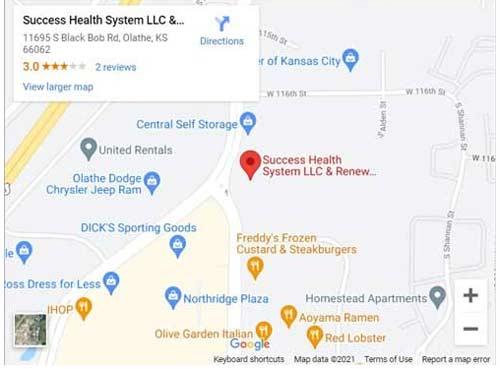 Directions to Psychiatrists in Olathe, KS